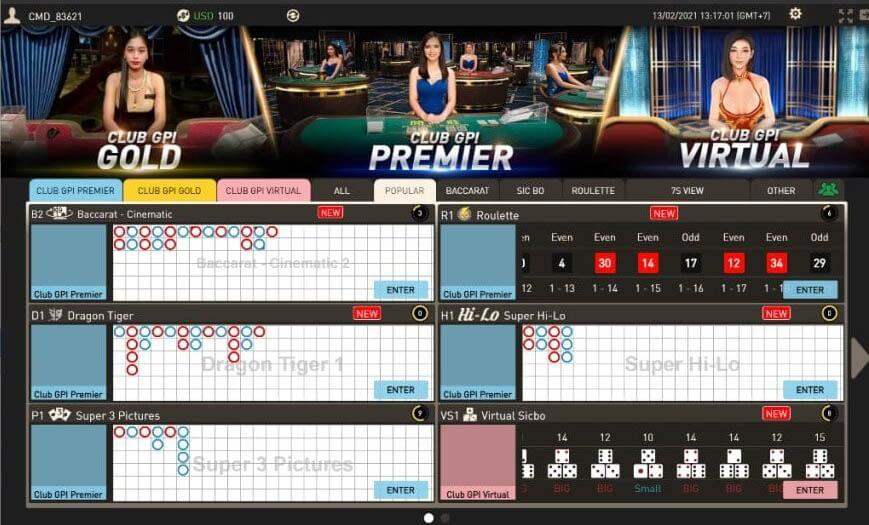 Casino Online - Sòng bạc trực tuyến hấp dẫn