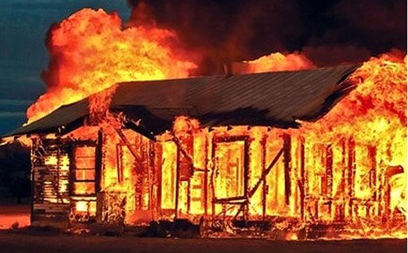 cháy nhà